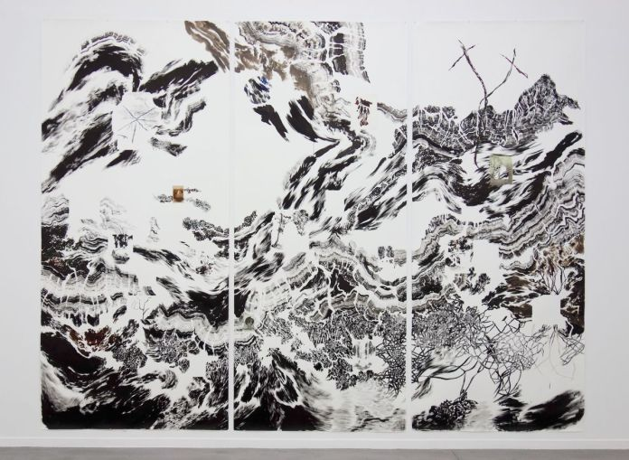 Abdelkader Benchamma - Fata Bormosa au MRAC à Sérignan - Vue de l'exposition Salle 2