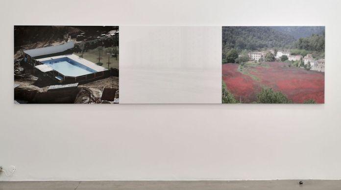 Sophie Ristelhueber - Le drapeau, 2000 - Photographie et documents, 1983-2018 au Frac Paca