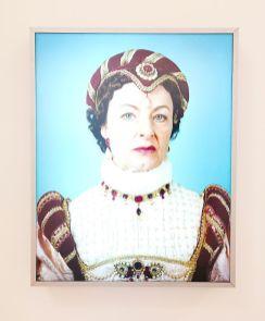Valérie Belin - Diane de Poitiers de la série Les acteurs, avril 2004 - Pouvoir(s) au Centre Photographique Marseille