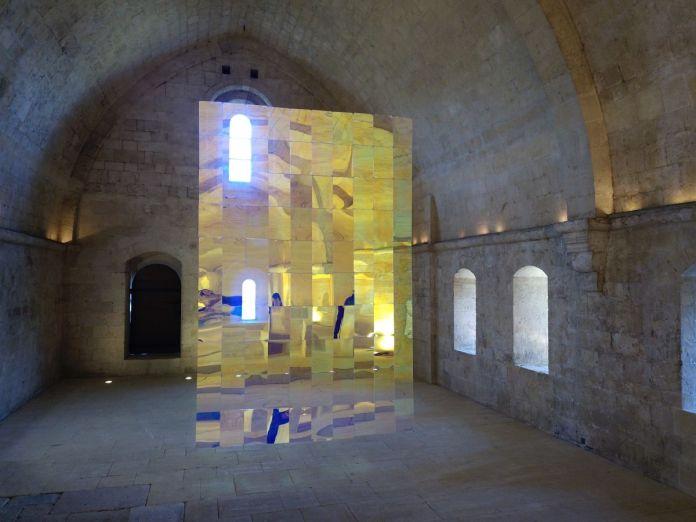 Voyons voir - Etienne Rey résidence à Abbaye de Silvacane, la Roque-d'Antheron en coproduction avec l'association Patrimoine Art et Culture