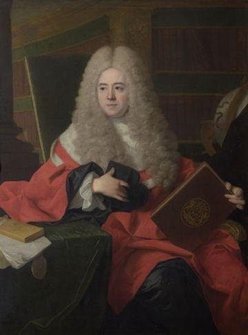 Jean Ranc (Montpellier, 1674 – Madrid 1735), Portrait de François-Xavier Bon de Saint Hilaire premier président de la Cour des comptes de Montpellier, vers 1715-1717