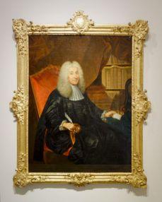 Anonyme français - Portrait de Jean-Pierre d'Aigrefeuille, président de ta Cour des comptes, aides et finances de Montpellier, vers 1736