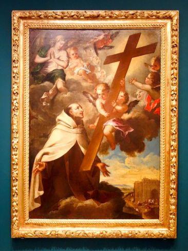 Antoine Ranc, Saint Jean en extase, vers 1705 - Jean Ranc, un Montpelliérain à la cour es rois - L'atelier montpelliérain