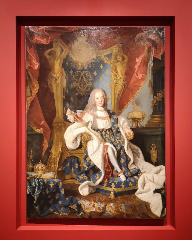 Jean Ranc Portrait de Louis XV, roi de France, 1718-1719