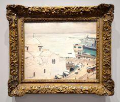 Albert Marquet - La Place du Gouvernement à Alger, printemps 1927 - Voyage Voyages au Mucem