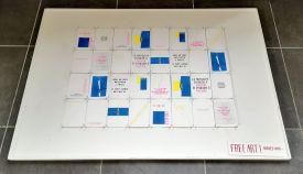 Campagne - Proverbe des Excurs, Cartes postales risographique - gethan&miles et Les Excursionnistes Marseillais - Anatomie de la joie collective