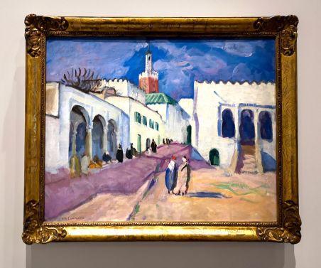 Charles Camoin - Minaret à Tanger, 1913 - Voyage Voyages au Mucem