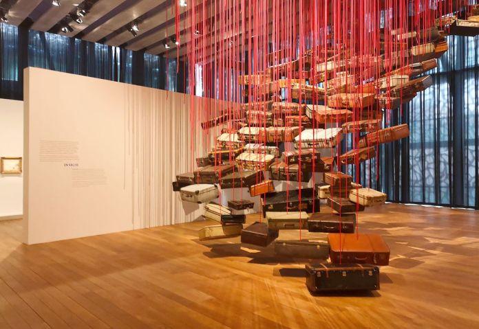 Chiharu Shiota, Accumulation – Searching for the Destination, 2014-2019 - Voyage Voyages au Mucem 03