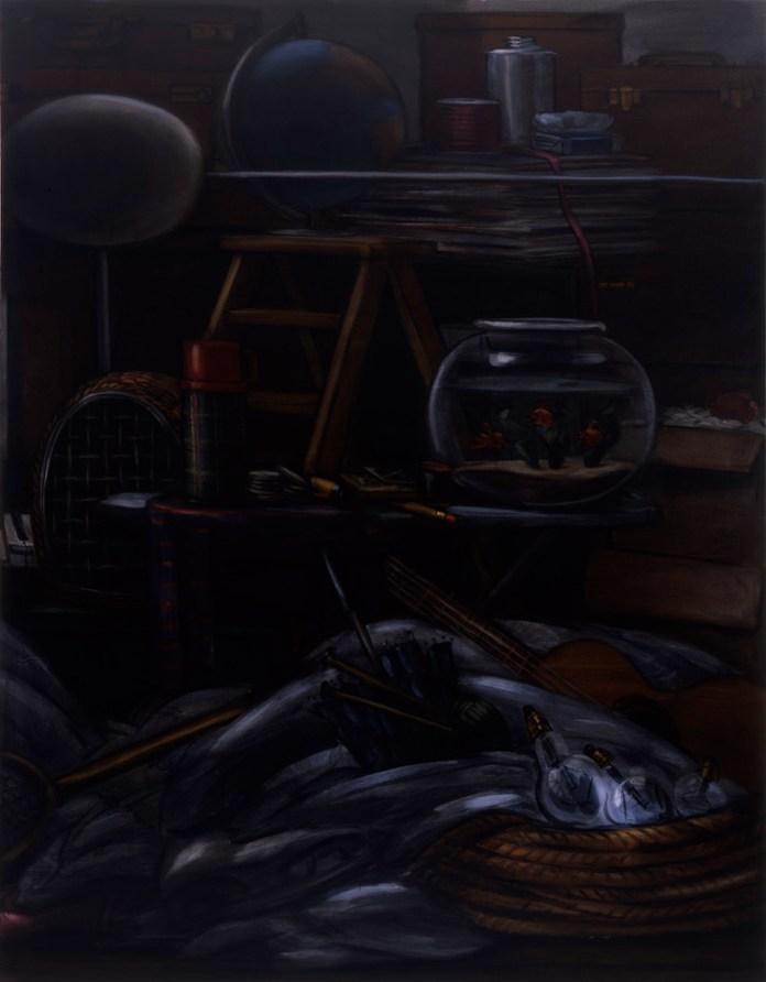 Lisa Milroy - Black and White, 2005 - Panneau 02