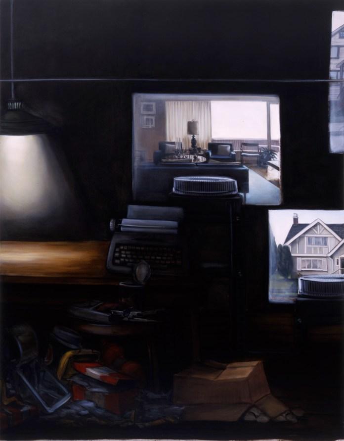Lisa Milroy - Black and White, 2005 - Panneau 04