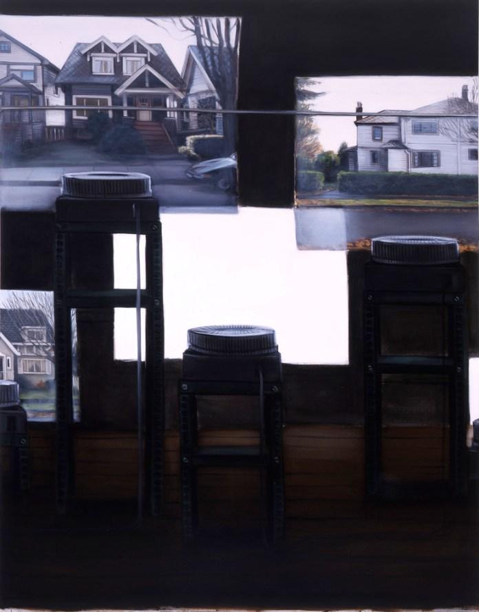 Lisa Milroy - Black and White, 2005 - Panneau 05