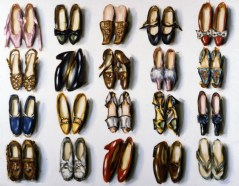 Lisa Milroy - Shoes, 1987