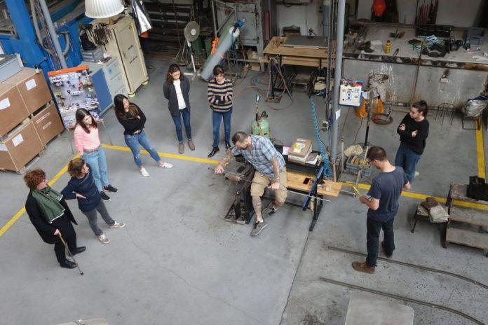 Workshop de l'École des beaux-arts de Marseille au Cirva, 2018 - Photo C. Capelle - Cirva