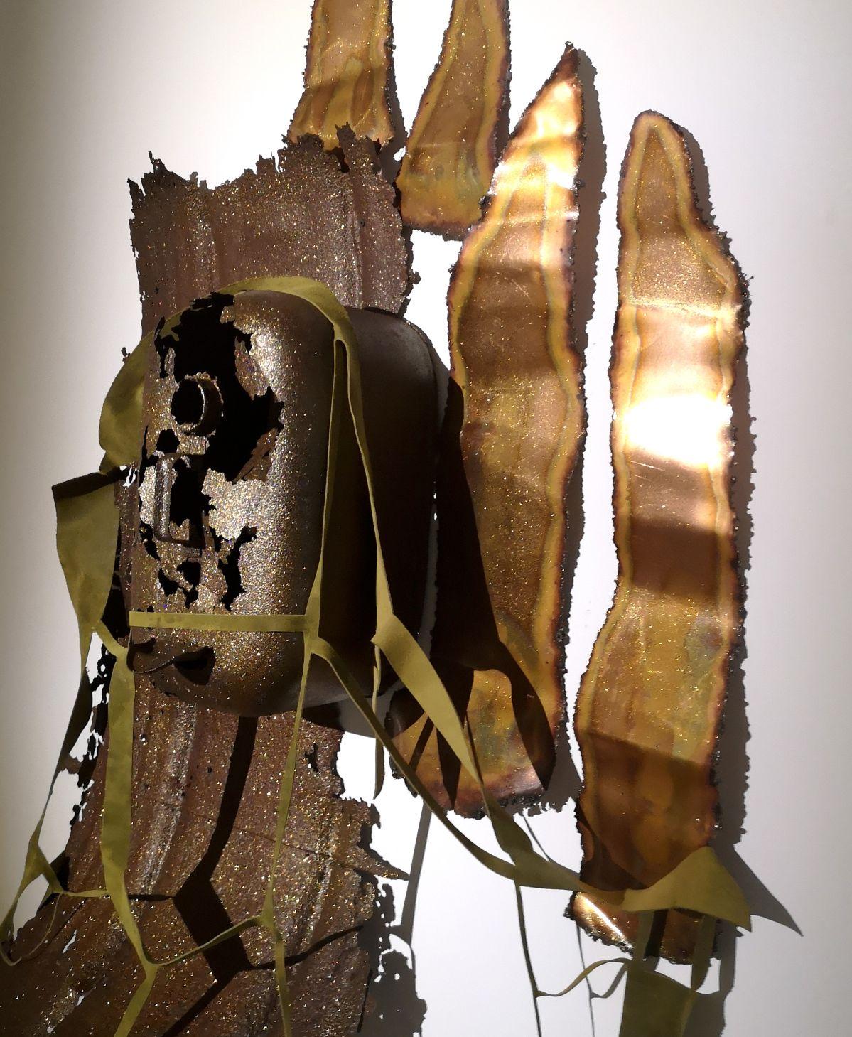 Amandine Guruceaga - Kevin, the House is Burning !, 2020 (Détail) - Street Trash - Friche La Belle de Mai