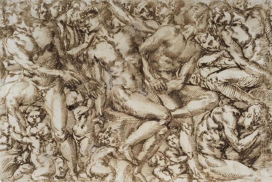 B. Bandinelli, Groupe de figures nues, XVIe siècle