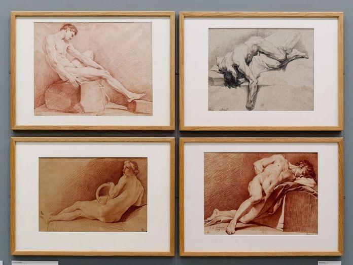 Edmé Bouchardon, Pierre Legros et Louis Gabriel Blanchet - Art & Anatomie - Musée Fabre