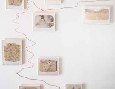 Jean-Jacques Rullier, La grande Promenade dans les montagnes (détail), 2019