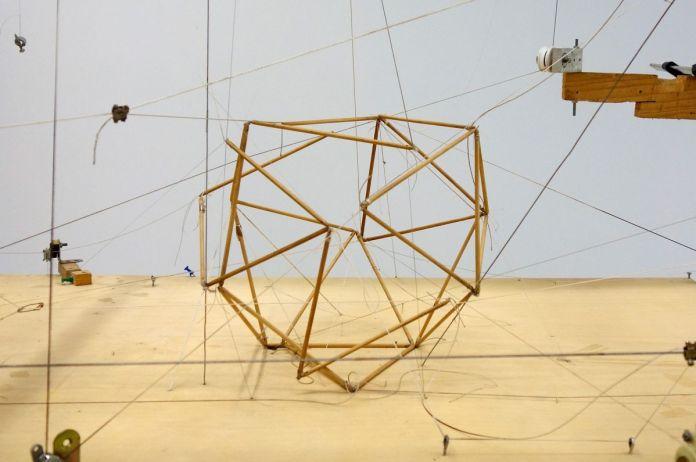 Attila Csörgő - Untitled (1 tetrahedron + 1 cube + 1 octahedron = 1 icosahedron), 1999