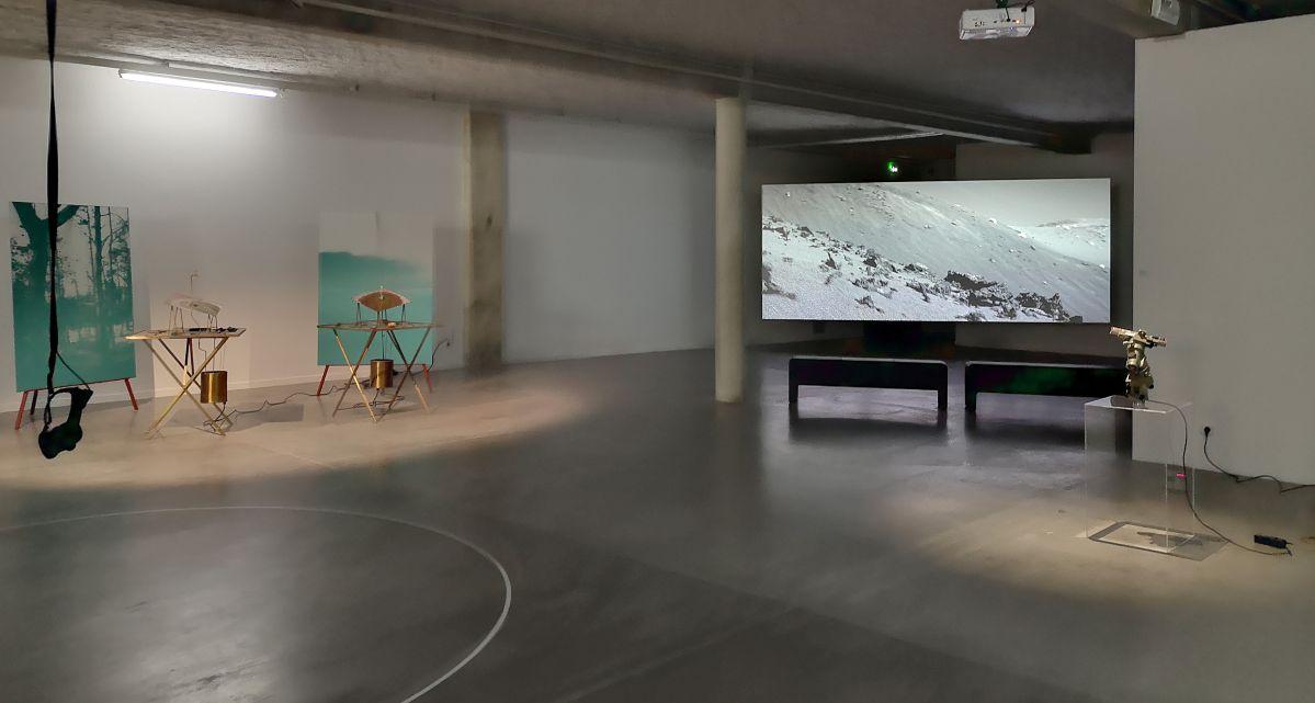 La mesure du monde au MRAC – Sérignan - Vue de l'exposition au rez-de-chaussée