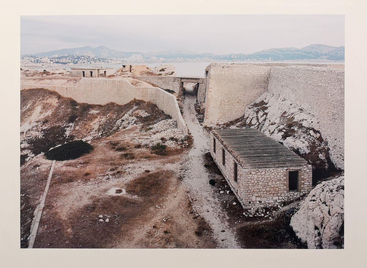 Margret Hoppe - Iles du Frioul - 43°16'58,0''N 5°18'51,3''E - Südwall (Le mur de la Méditerranée) - Friche la Belle de Mai