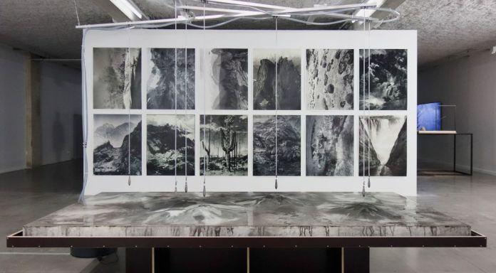 Pierre Malphettes - Volcans, fleuves et deltas, 2019 et Batia Suter - Hexamiles (extract), 2019 - La mesure du monde au MRAC – Sérignan