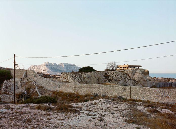 Margret Hoppe - Chemin des Goudes, Montredon - 43°13'32,3''N 5°20'51,0''E - Südwall (Le mur de la Méditerranée) - Friche la Belle de Mai