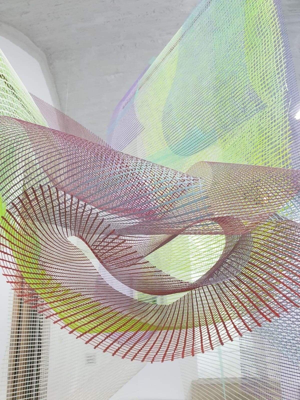 Nina Roussière - Suave, mari magne turbanlibus aequere, ventis..., 2020 (détail) - Les traces du futur - galerie chantiersBoîteNoire - © Photo Nina Roussière