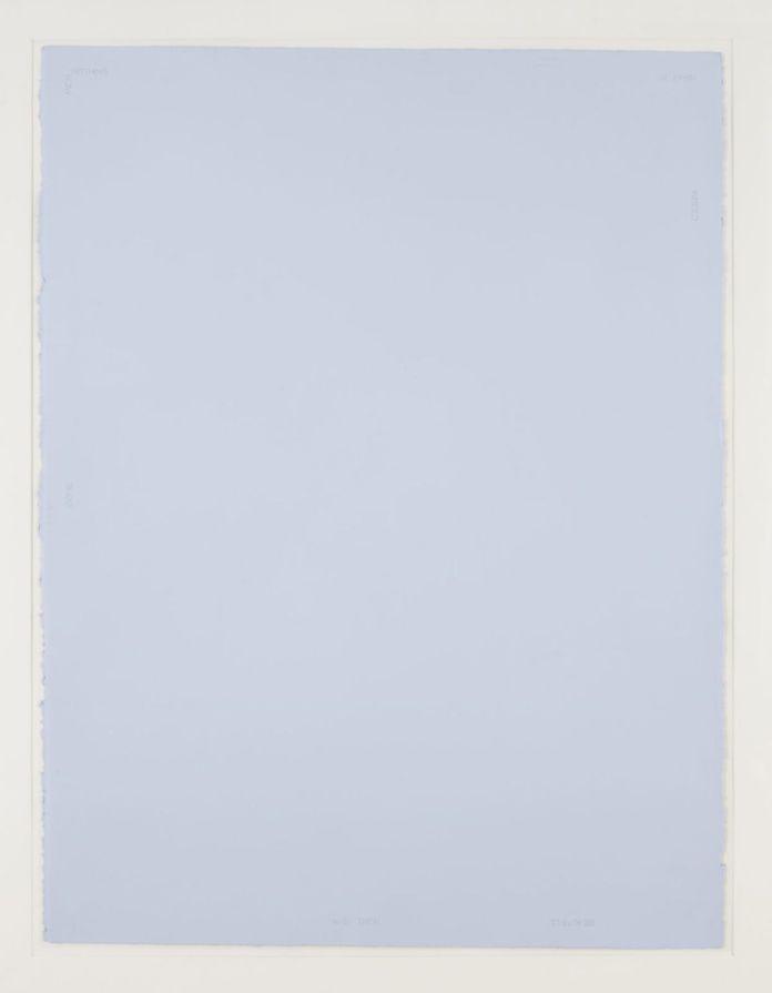 Robert Barry, Sans titre, 1980. © Donation Yvon Lambert à l'État français / Centre national des arts plastiques / Dépôt à la Collection Lambert, Avignon