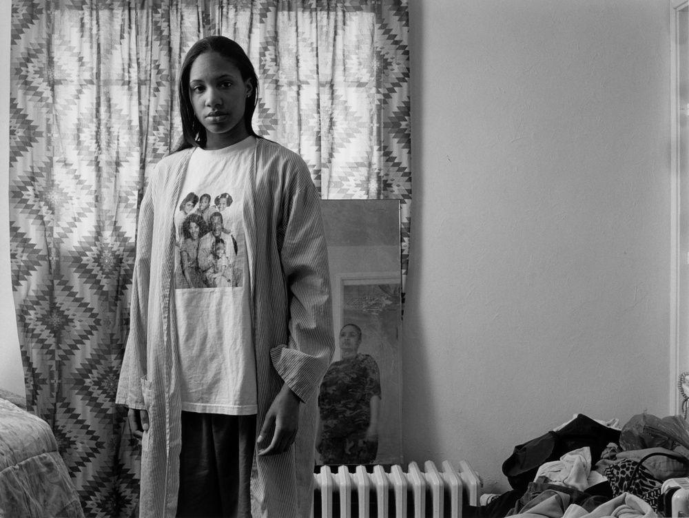 Latoya Ruby Frazier - Huxtables, Mom and Me, 2008 - Des Visages - Le temps de l'Autre - Carré d'Art à Nîmes - Salle 2