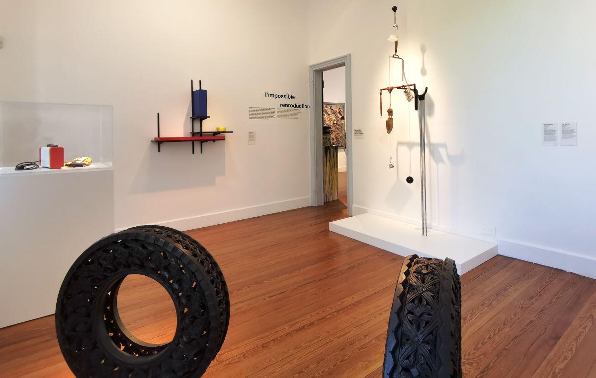 Recyclage/Surcyclage à la Villa Datris - L'impossible reproduction - Vue de l'exposition