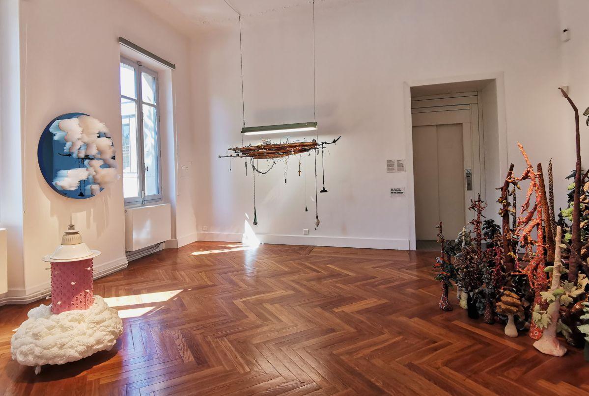 Recyclage/Surcyclage à la Villa Datris - Ruptures de nature - Vue de l'exposition