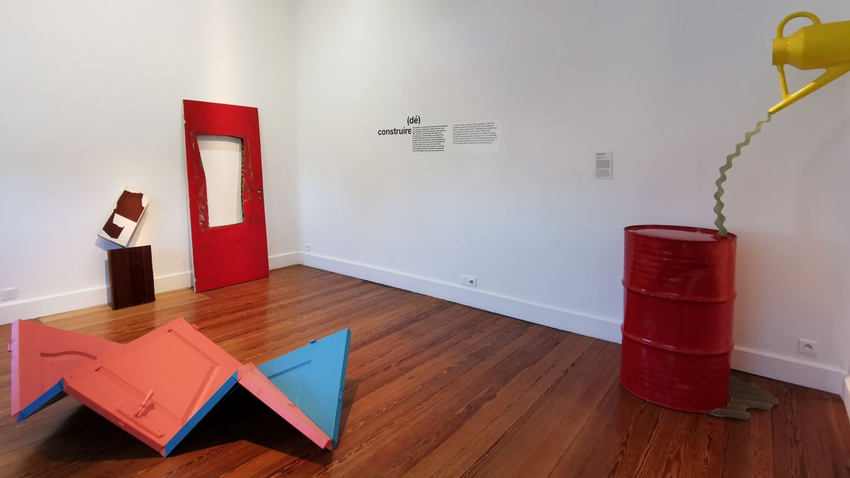 Recyclage/Surcyclage à la Villa Datris - (dé) construire - Vue de l'exposition