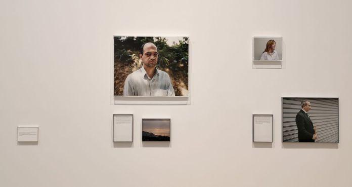Sophie Calle - «La Dernière Image», 2010 - Des Visages - Le temps de l'Autre - Carré d'Art à Nîmes - Salle 2