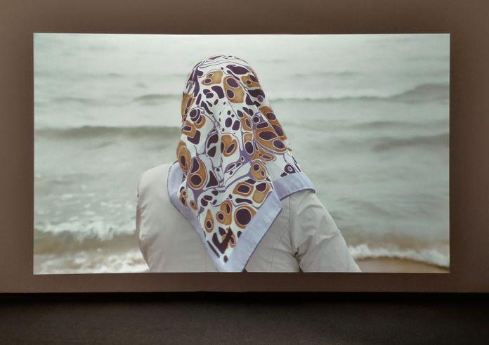 Sophie Calle - Femme au bébé, 2011 - Des Visages - Le temps de l'Autre - Carré d'Art à Nîmes - Salle 3
