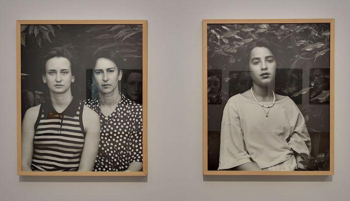 Suzanne Lafont - Sans titre, 1988 - Des Visages - Le temps de l'Autre - Carré d'Art à Nîmes - Salle 1