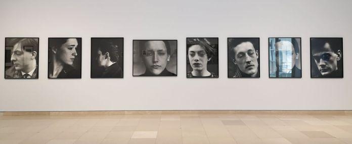 Suzanne Lafont - Sans titre, 1989 - Des Visages - Le temps de l'Autre - Carré d'Art à Nîmes - Salle 1