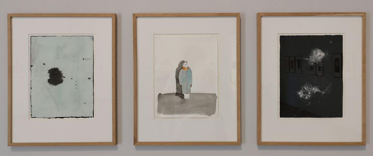 Thomas Schütte - And Now a Song (Requiem),1992 - Des Visages - Le temps de l'Autre - Carré d'Art à Nîmes - Salle 4