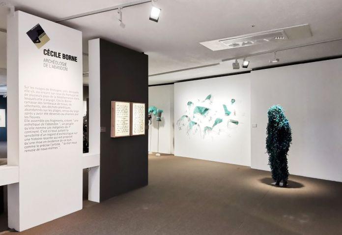 Cécile Borne - 4 à 4 au Musée Paul Valery - Sète - Vue de l'exposition