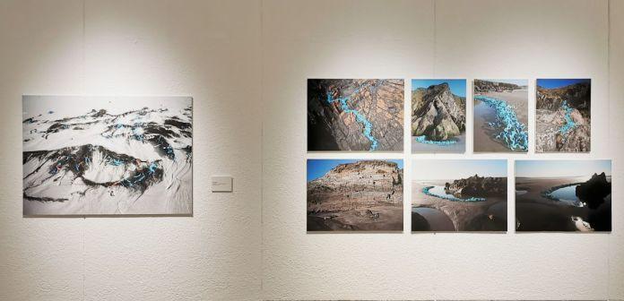 Cécile Borne - Paysage du 7e continent (1 à 8), 2019 - 4 à 4 au Musée Paul Valery - Sète