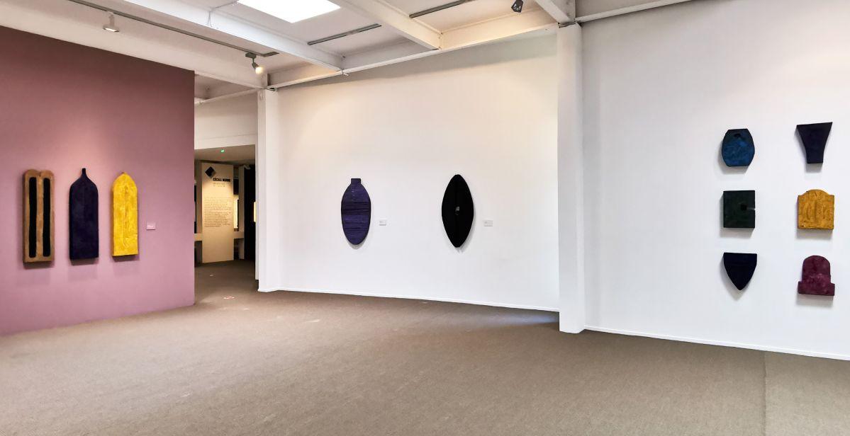 Isabelle Leduc - 4 à 4 au Musée Paul Valery - Sète - Vue de l'exposition