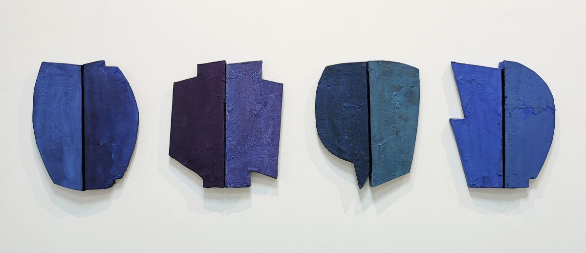 Isabelle Leduc - Hommage à P, 2017 - 4 à 4 au Musée Paul Valery - Sète