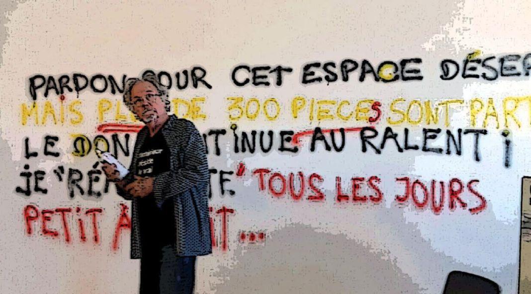 Le Grand Dépotoir de Julien Blaine à la Friche… Après la razzia