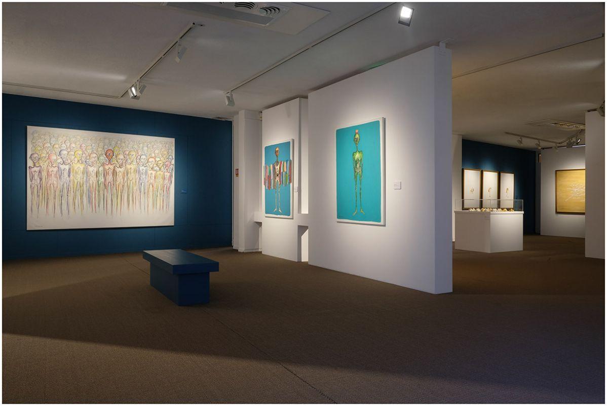 Bashar Alhroub - 4 à 4 au Musée Paul Valery - Sète - Vue de l'exposition