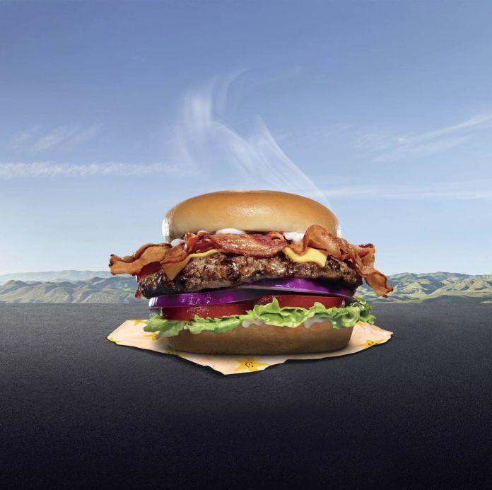 Aurélien Meimaris, Achète un burger, 2020, photomontage
