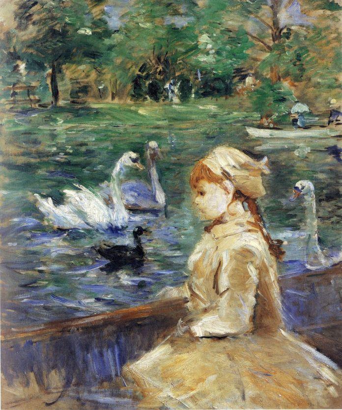 Berthe Morisot - Sur le lac, 1884