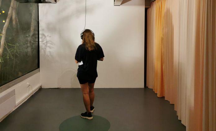 Flore Saunois - Marcher la distance, 2020 - «Liminal» - art-cade - PAC 2020, Marseille
