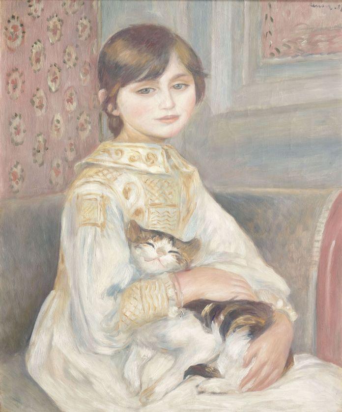 Auguste Renoir - Julie Manet ou L'Enfant au chat, 1887
