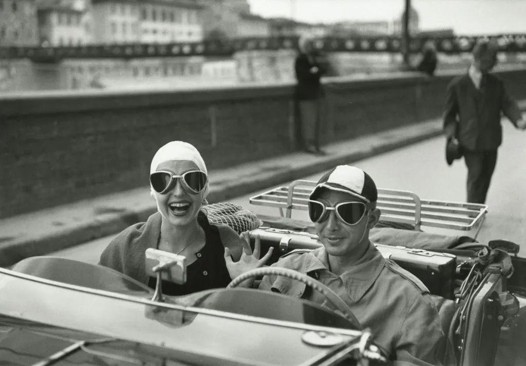 Ruth Orkin - Couple in MG, 1951