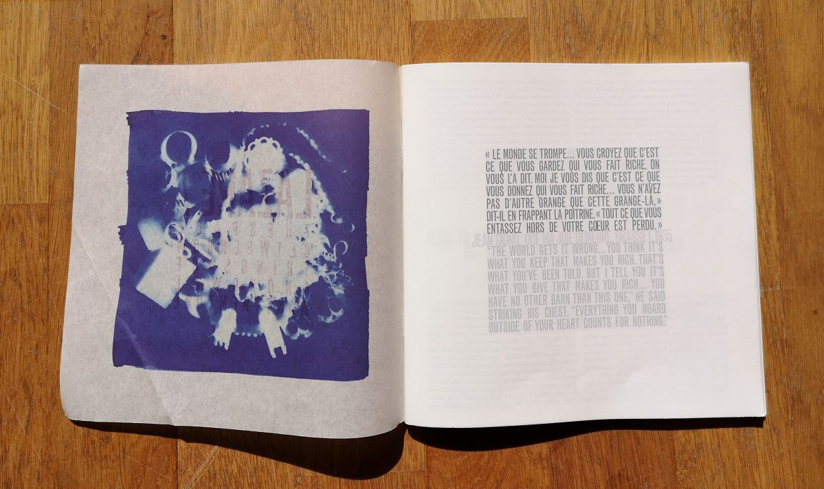 gethan&myles - Catalogue -The space between - How things are and how we want them to be