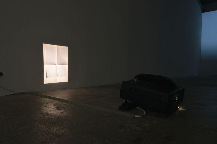 Flore Saunois - Sans titre (feuille pliée), 2020 - Meridional Contrast - Prix Région Sud - Art-o-rama 2020 - Friche la Belle de Mai - Photo Camille Charnay